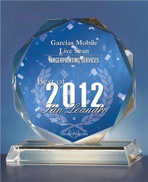 Mobile Live Scan Fingerprinting Services in Hayward CA